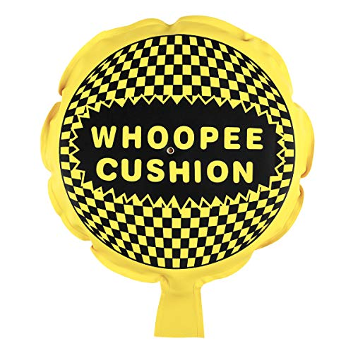 BESTOYARD Whoopee Cushion Makes Fart Sound Self-Inflating Hygienic Funny Prank Gag Gift Joke Farting Toy (Random Color) ()