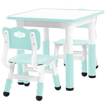 Juegos de mesas y sillas Mesa y sillas para niños Juguetes y sillas para la educación ...