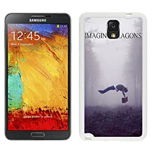 Personalized Galaxy Note 3 Case Design with Imagine Dragons Samsung Galaxy Note 3 III N900 N9005 Case in White