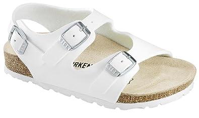 c334a3ac7ca23 Birkenstock Roma Boys Summer Shoes Kids Beach Birko Flor Buckle ...