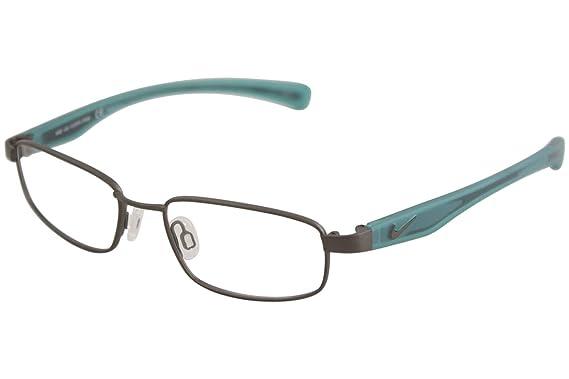 92678f648c Eyeglasses NIKE 4635 034 BRUSHED GUNMETAL-HYPER JADE at Amazon Men s ...