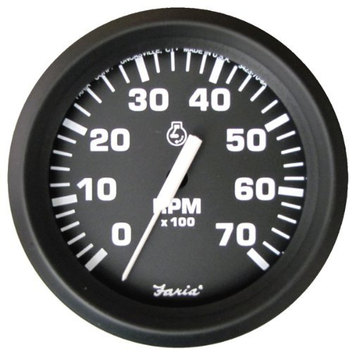 Faria 32805 Euro 7000 rpm Tachometer (Renewed) ()