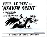 "Pepe le Pew in""Heaven Scent"" Studio Lobby Card Publicity Still - Warner Brothers"