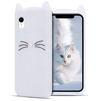 coque iphone xr oreille chat