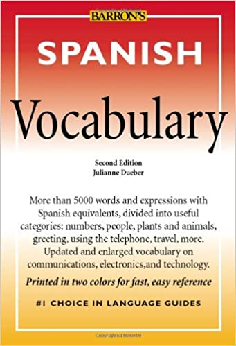 Amazon spanish vocabulary barrons vocabulary julianne spanish vocabulary barrons vocabulary 2nd edition m4hsunfo