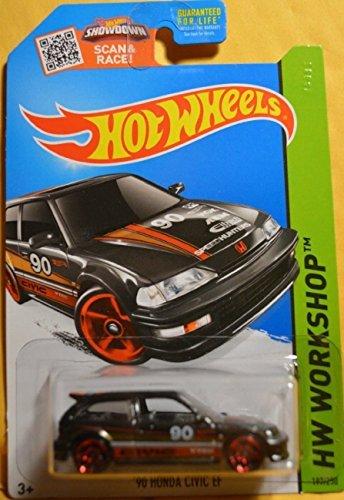orkshop '90 Honda Civic EF 197/250, Black (Honda Toy)