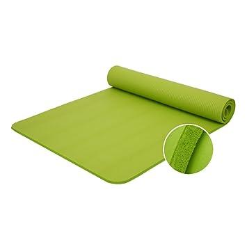 Aesy Estera de Yoga, 10mm Goma Antideslizante Ampliar Estera ...