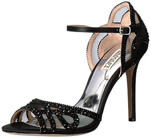 Badgley Mischka Mujeres Tansy Dress Sandal Black