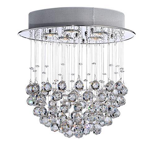 Crystal Bowl 5-light Chandelier