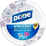 Party Dixie Everyday Disposable Paper Bowls, 10 oz, 38 count