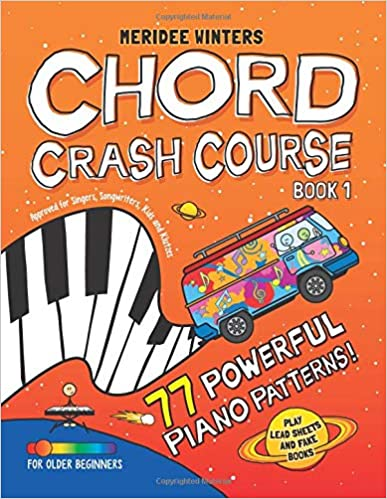 meridee winters chord crash course approved for singers songwriters kids and klutzes volume 1