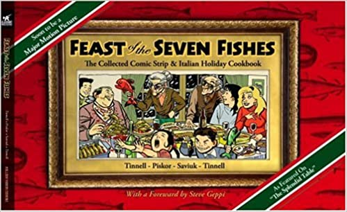 Seven Fishes Christmas.Feast Of The Seven Fishes The Collected Comic Strip And