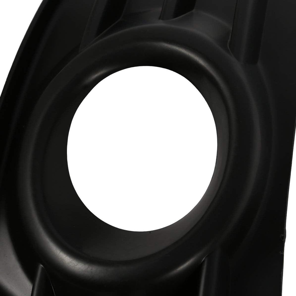 noir droite Sunnyflowk 1PCS // Couvercle de feu antibrouillard ABS de haute qualit/é pour Citroen C4 2004-2008 Couvercle de phare antibrouillard C-triomphe Cadre de feu antibrouillard avant