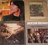 JACKSON BROWNE: For Everyman, Running On Empty, Hold Out & The Pretender (4 ALBUM LOT)