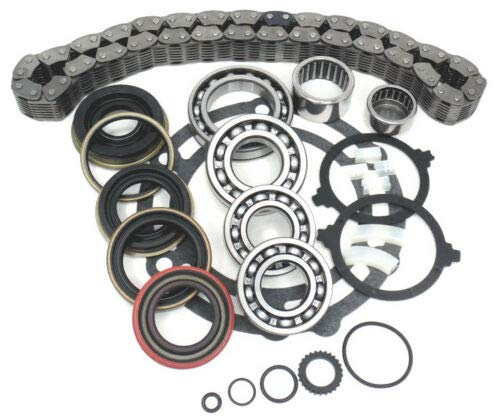 Jeep 231 NP231J Transfer Case Rebuild Kit with Bearings & Chain
