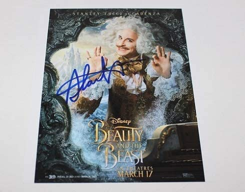 Beauty And The Beast Cadenza Stanley Tucci Hand Signed Autographed 8x10 Glossy Poster Photo Loa At Amazon S Entertainment Collectibles Store