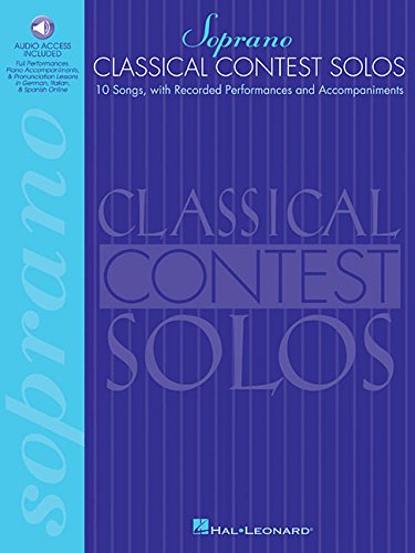(Classical Contest Solos - Soprano: With companion recordings online)