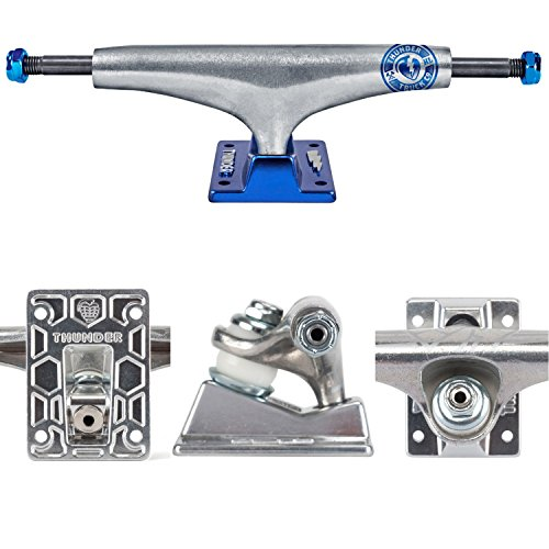 Skateboard Trucks Pair - THUNDER Skateboard Trucks BLUELINER HOLLOW LIGHT HI 147 (Pair)
