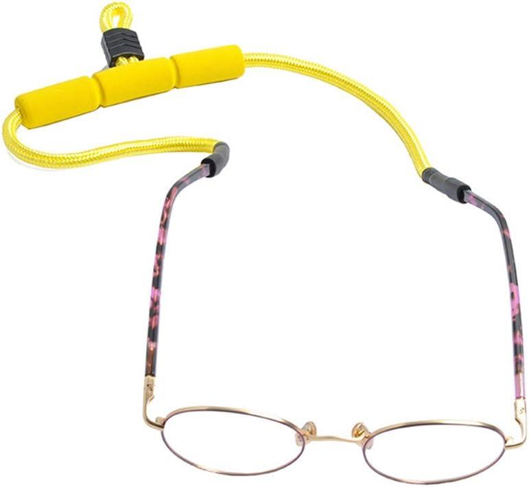 VORCOOL presilla para gafas ajustable antideslizante para gafas Amarillo