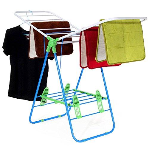 KING DO WAY Gullwing Drying Racks Outdoor Balcony Hangers Wi