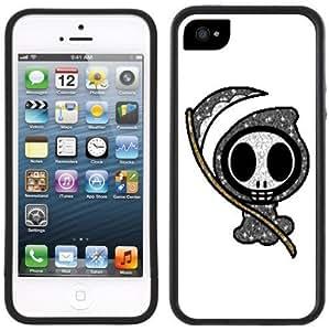 Cute Grim Reaper Goth Emo Handmade iPhone 5C Black Case