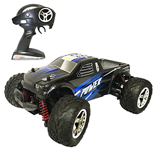 HomeXin RC Car 1:20 4WD High Speed Off Road Remote Control Car 45km/h 2.4GHz All Terrain Radio Controlled Racing Monster Truck 1500mAh Lithium Battery (blue)
