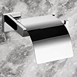InterDesign Swivel Wall Mount Paper Towel Holder, Contemporary Stainless Steel Wall-mounted,Bathroom Accessory