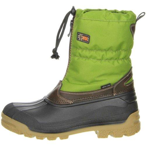 Vista Canada Polaire Meisje Jonge Kind Dames Winter Laarzen Snowboots Thermo-tex Schoenen Binnen Green (groen)