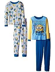 Despicable Me Big Boys' Club Mayhem Four-Piece Pajama Set