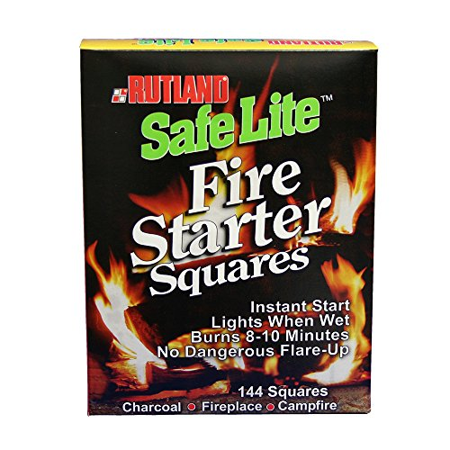 Rutland Safe Lite Fire Starter Squares made our list of camping safety tips for families who RV and tent camp