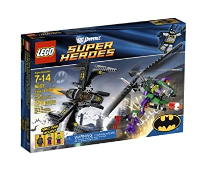 Lego Super Heroes Batwing Battle Over Gotham City 6863 by LEGO