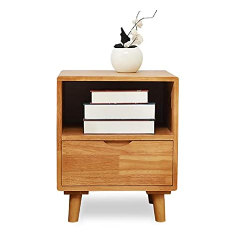 Amazon.com: Nightstand Fully Assembled Wood Bedroom ...