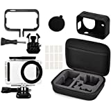 XBERSTAR Full Protect Kit storage carry Bag for Xiaomi Mijia 4K Mini Camera Waterproof Housing Case Side Frame Cover Silicone Shell