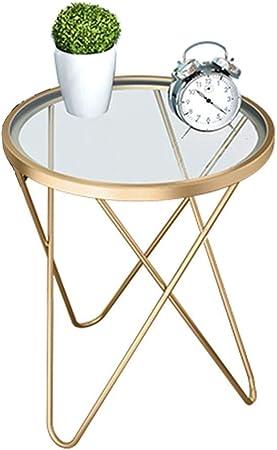 Table d'appoint Table d'appoint en verre moderne table haute