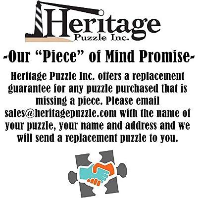 Heritage Puzzle Coastal Sunrise Jigsaw Puzzle (1000-Piece): Toys & Games