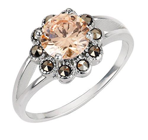 Zirconia Vintage Ring - 9
