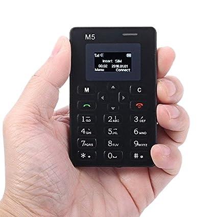 Amazon.com: qjoy Reloj despertador pequeño 128 M tarjeta de ...