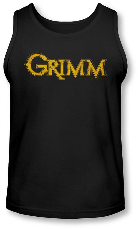 Grimm - Mens Gold Logo Tank-Top