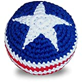 World Footbag USA Flag Hacky Sack Footbag