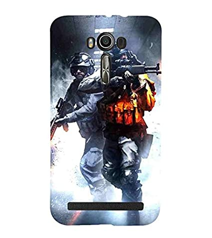 finest selection 6e4a3 3a603 For Asus Zenfone 2 Laser ZE500KL man with gun: Amazon.in: Electronics
