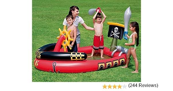 Bestway - Centro de juegos hinchable barco pirata (53041): Amazon ...