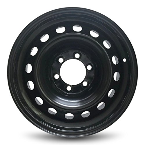 Steel Cruiser - Toyota FJ Cruiser New Black Steel Rim 17 Inch 6 Lug Full Size Thick Steel Wheel (17x7.5