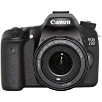 Canon EOS 70D Digital SLR Camera with 18-135mm STM Lens International Version (No warranty)
