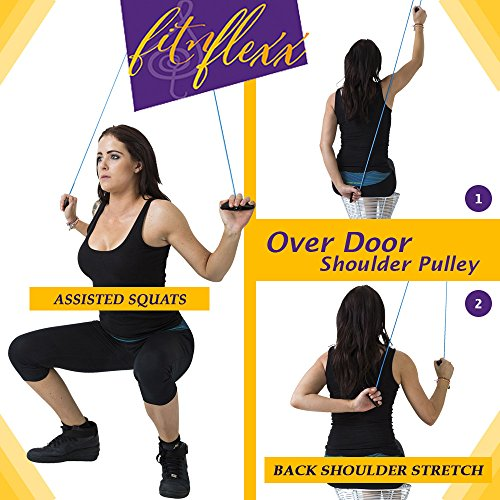 Portable-Exercise-Equipment-Set-Resistance-Bands-with-Shoulder-Pulley-for-Rehab-Therapy-Strength-Workouts-at-Home-Office-or-Travel-Ideal-for-Pilates-Flexibility-Strength-Training-or-Injury-Recovery-Fr