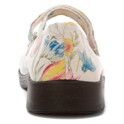 7151 Blanches Womens Arcopedico Scala Fleurs Shoes Leather 5gv7zZwq