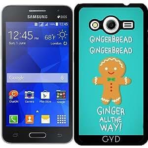 Funda para Samsung Galaxy Core 2 SM-G355 - Pan De Jengibre by AnishaCreations