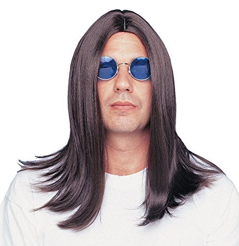 Costume Culture Men's Parted 18 Inch Wig Deluxe, Brown, One Size]()
