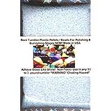 Rock Tumbler Plastic Pellets / Beads Used For Polishing & Burnishing Stages NEW!