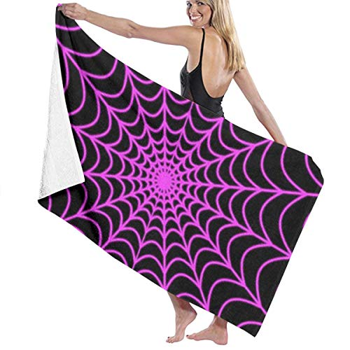 PTYHR Beach Towels - Polyester & Cotton Bath Towel - Halloween Spider Web, Luxury Quick Dry Towels for Daily Use Moisture Wicking for Kids & Adults Guest Body]()
