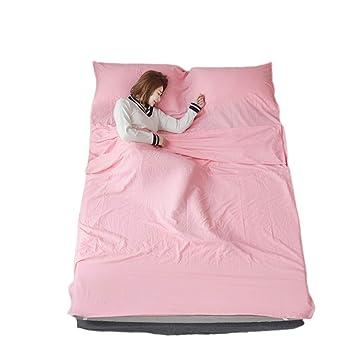 HYTEERP 2 En 1Portátil Sobre Algodón Lavado Bolsa De Dormir Ligero Anti-Sucio Lavable Respirable